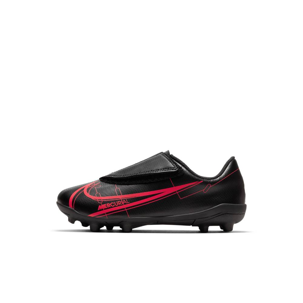 Nike Mercurial Vapor 14 Club MG Fotballsko Barn Black x Prism Pack