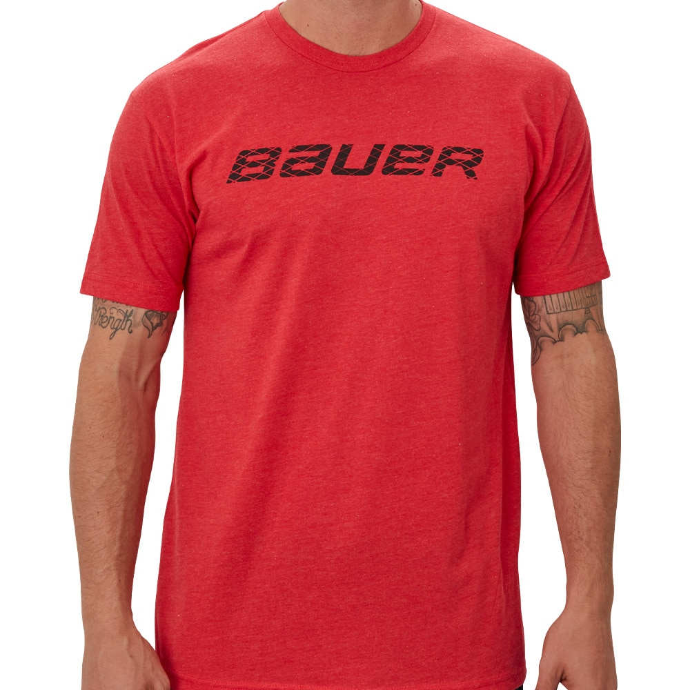 Bauer Graphic T-skjorte Rød