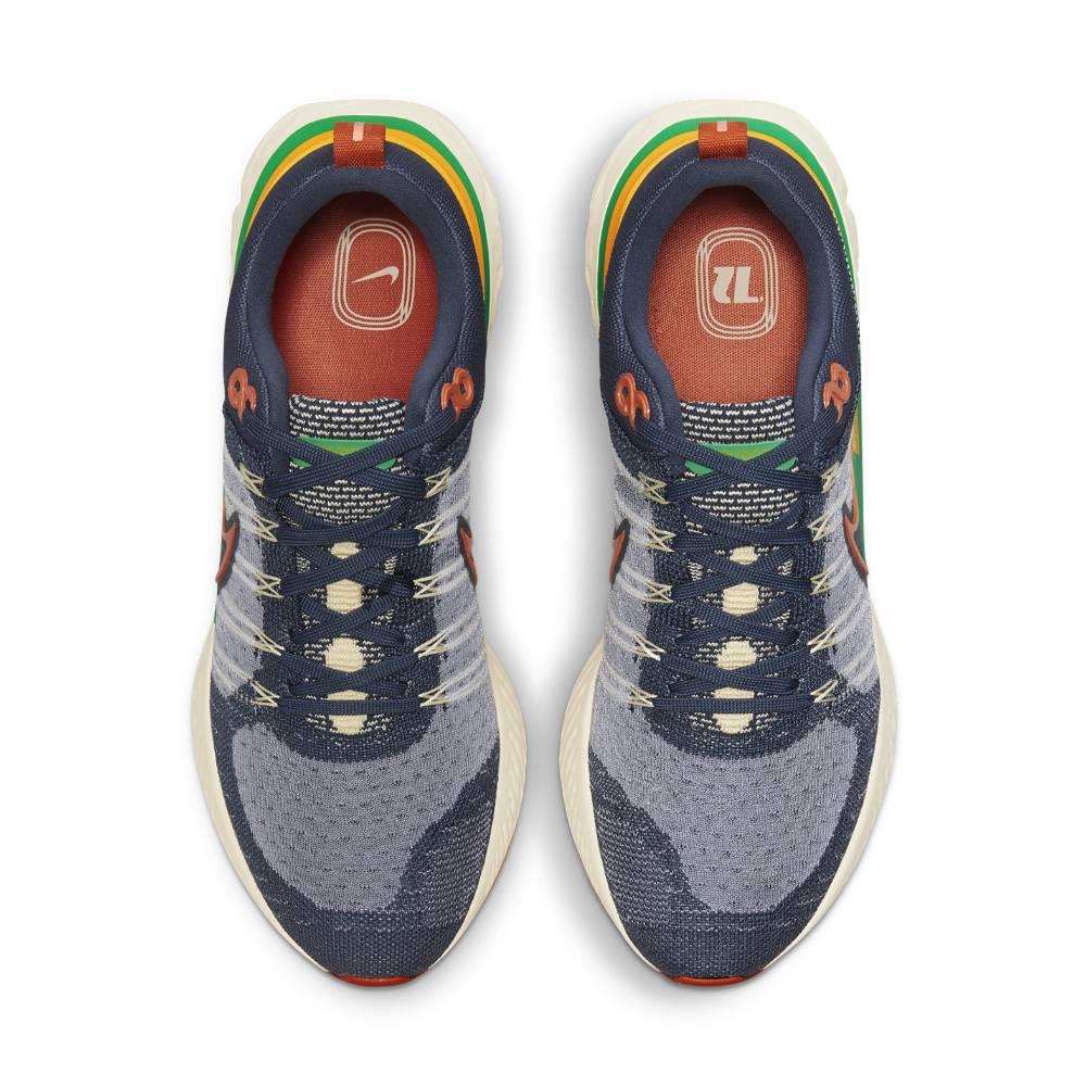 Nike React Infinity Run Flyknit 2 Joggesko Herre Blå
