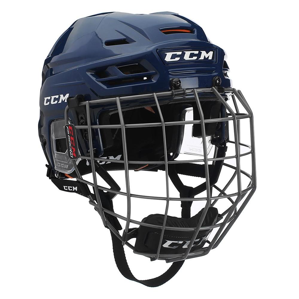 Ccm Tacks 710 Combo Hockeyhjelm Marine