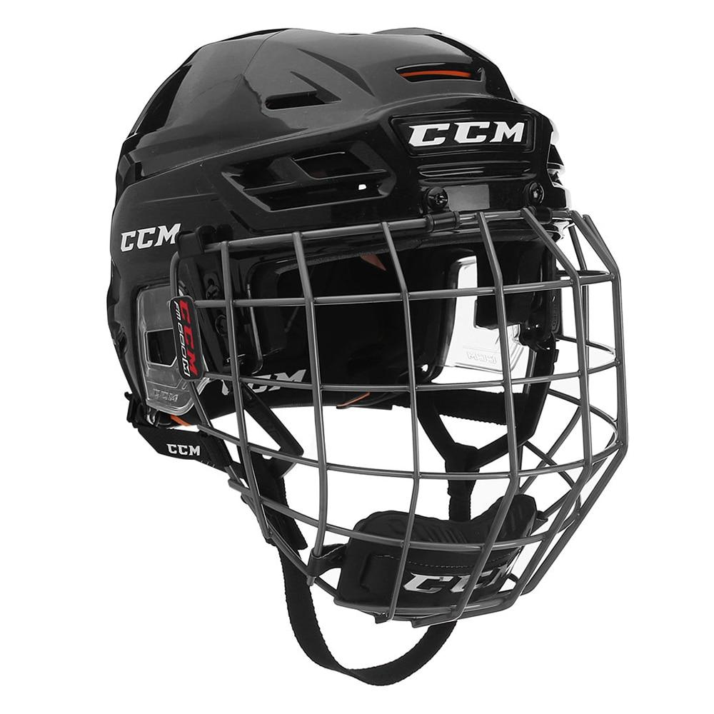 Ccm Tacks 710 Combo Hockeyhjelm Svart