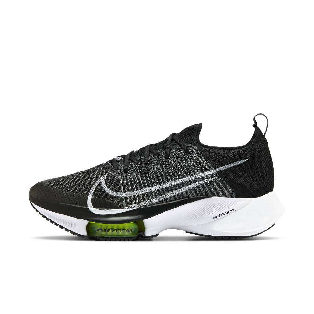 Nike Air Zoom Tempo Next% Flyknit Joggesko Herre Sort/hvit