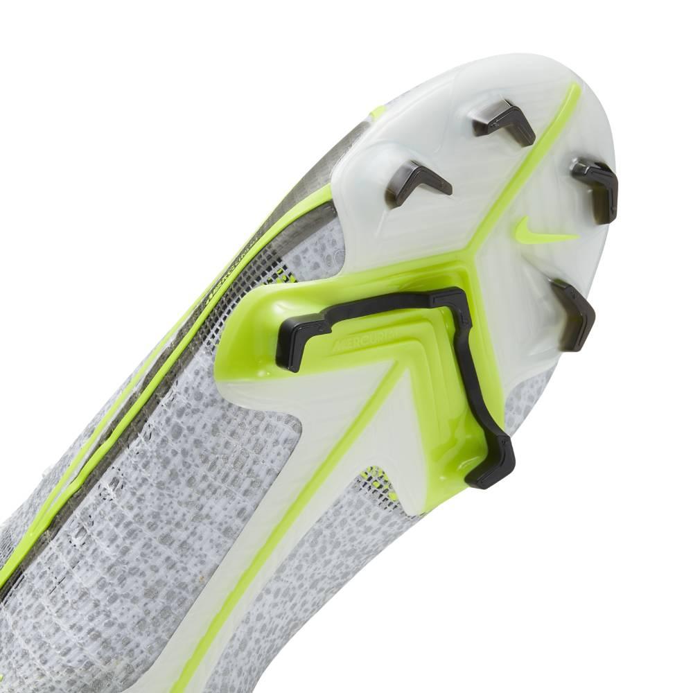 Nike Mercurial Superfly 8 Elite FG Fotballsko Silver Safari