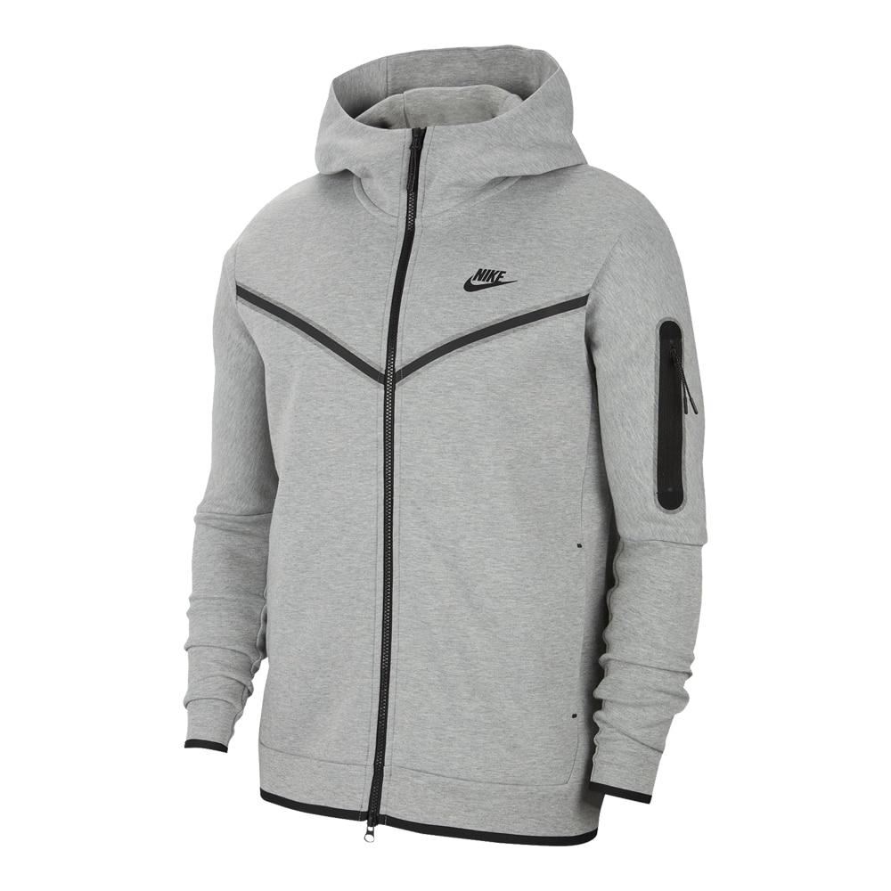 Nike Tech Fleece FullZip Hettegenser Grå