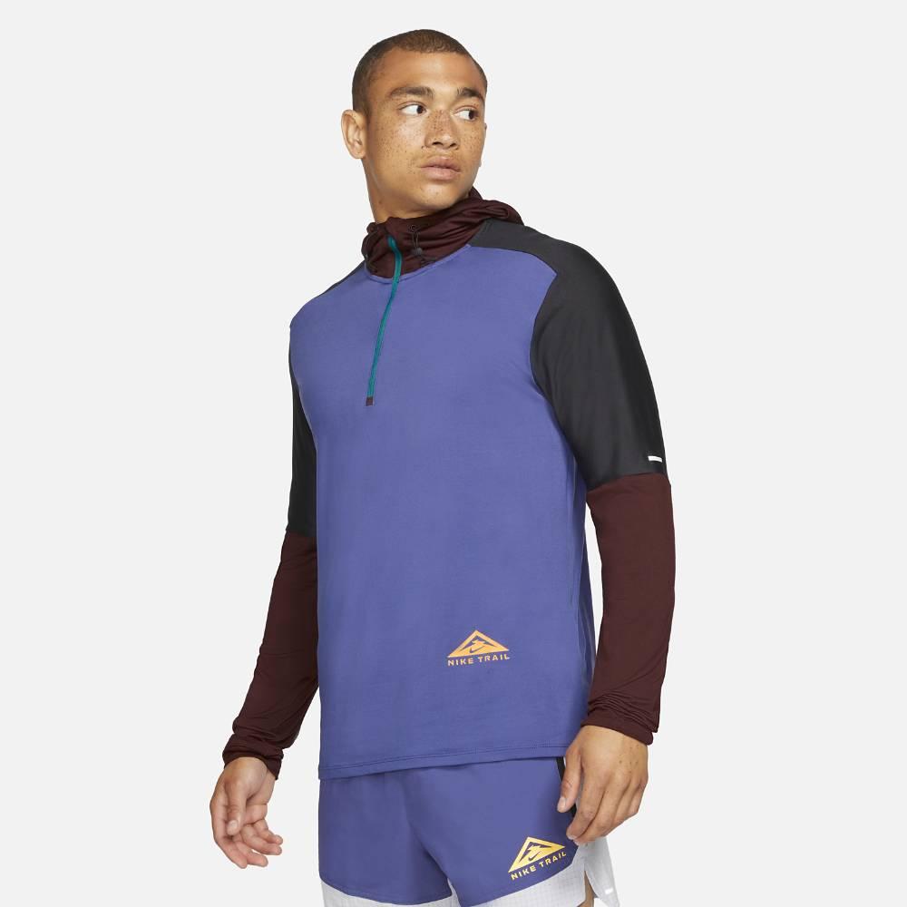 Nike Trail Element GX Hoodie Hettegenser Herre Lilla