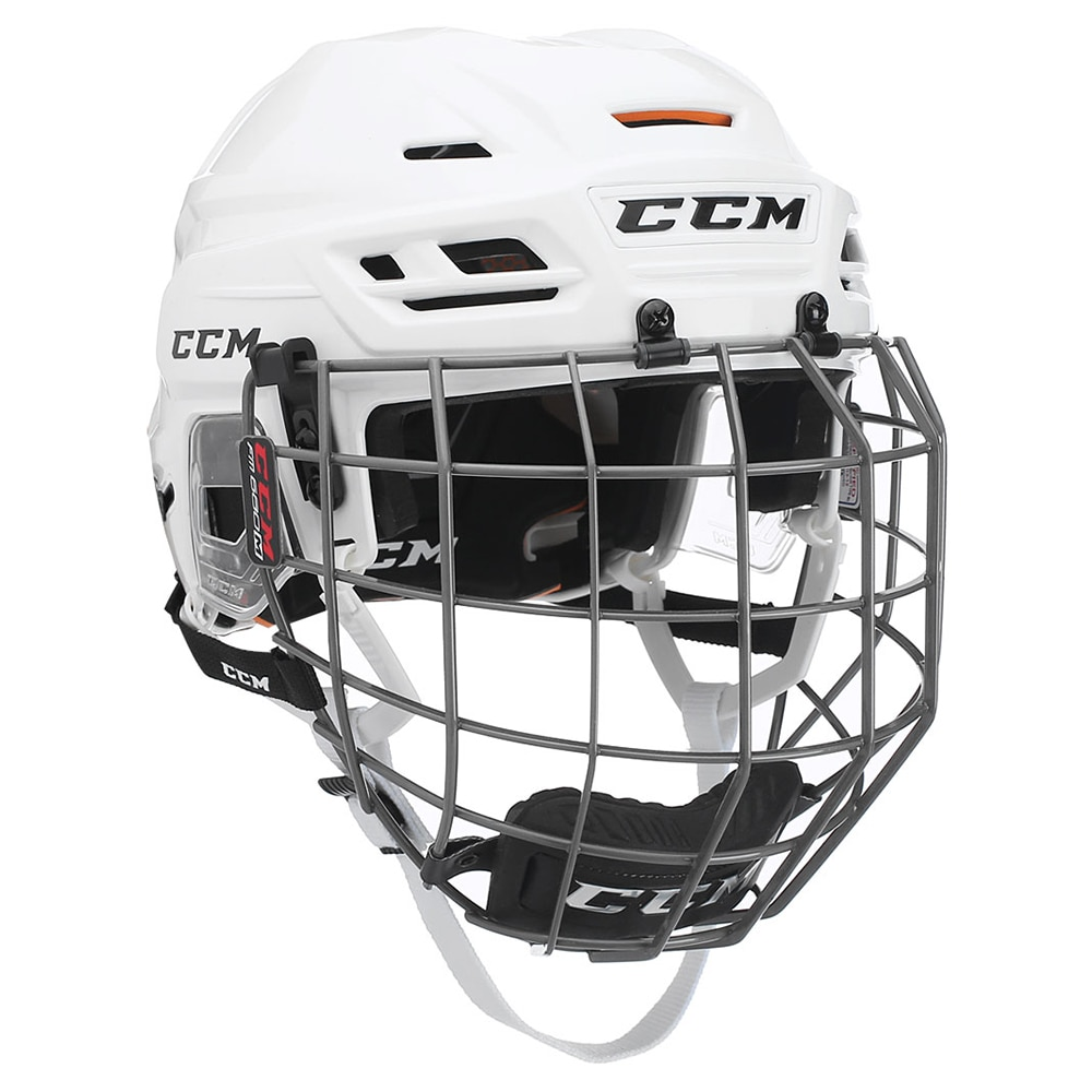 Ccm Tacks 710 Combo Hockeyhjelm Hvit