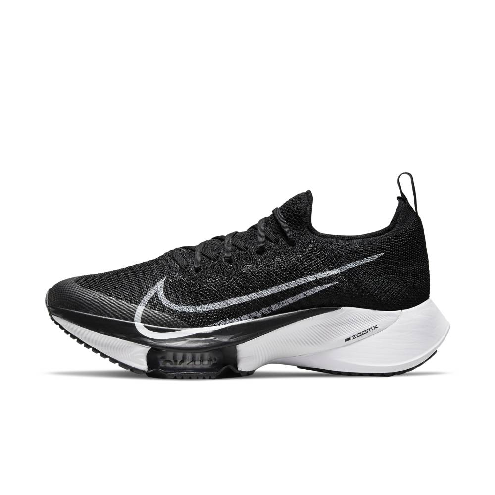 Nike Air Zoom Tempo Next% Flyknit Joggesko Dame Sort/Hvit