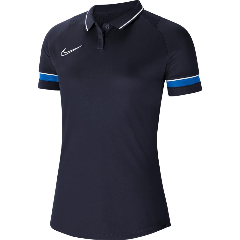 Nike Dry Academy 21 Polo Dame Marine