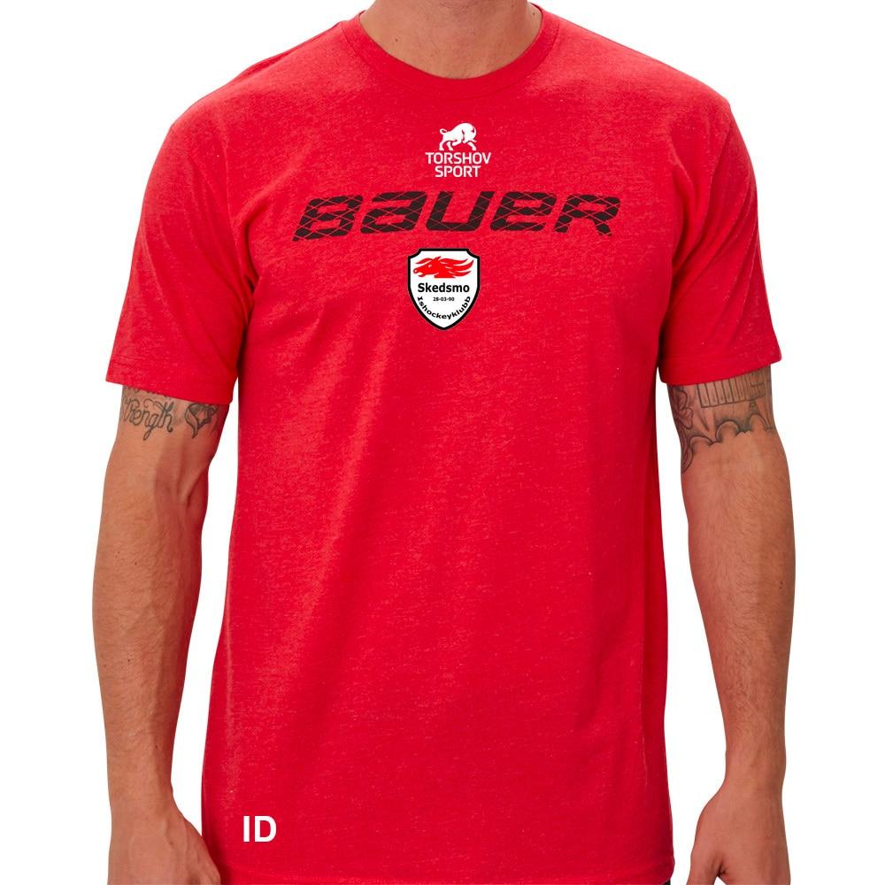 Bauer Skedsmo Hockey Graphic T-skjorte Rød
