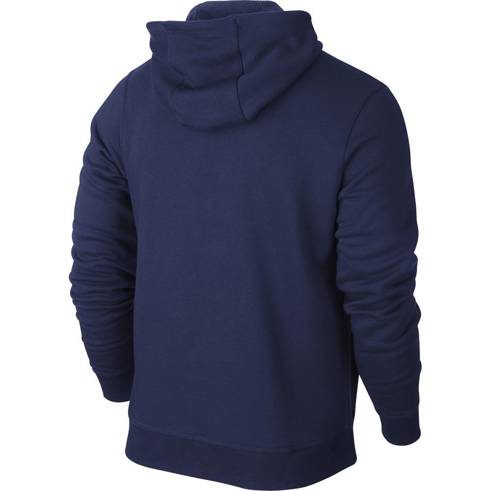 Nike Team Club FullZip Hoody Hettegenser Marine