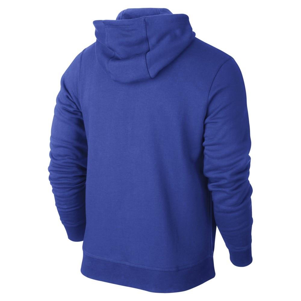 Nike Team Club FullZip Hoody Hettegenser Blå
