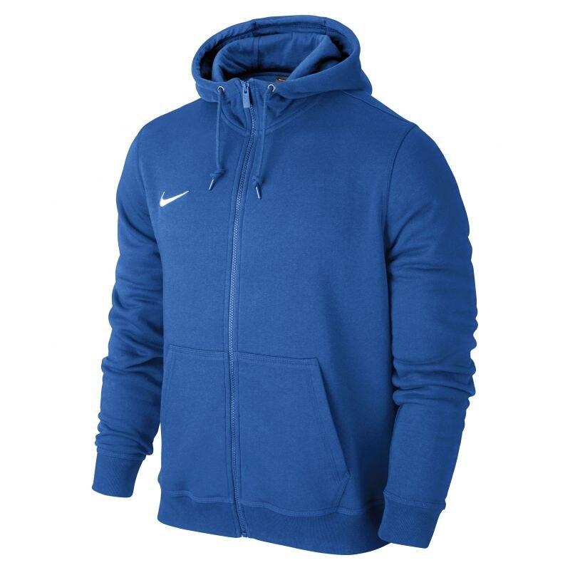 Nike Team Club FullZip Hoody Hettegenser Barn Blå