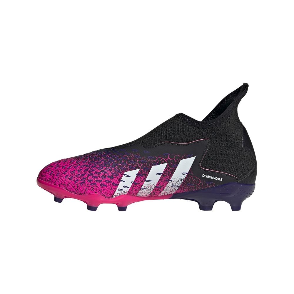 Adidas Predator Freak .3 Laceless FG/AG Fotballsko Barn Superspectral Pack