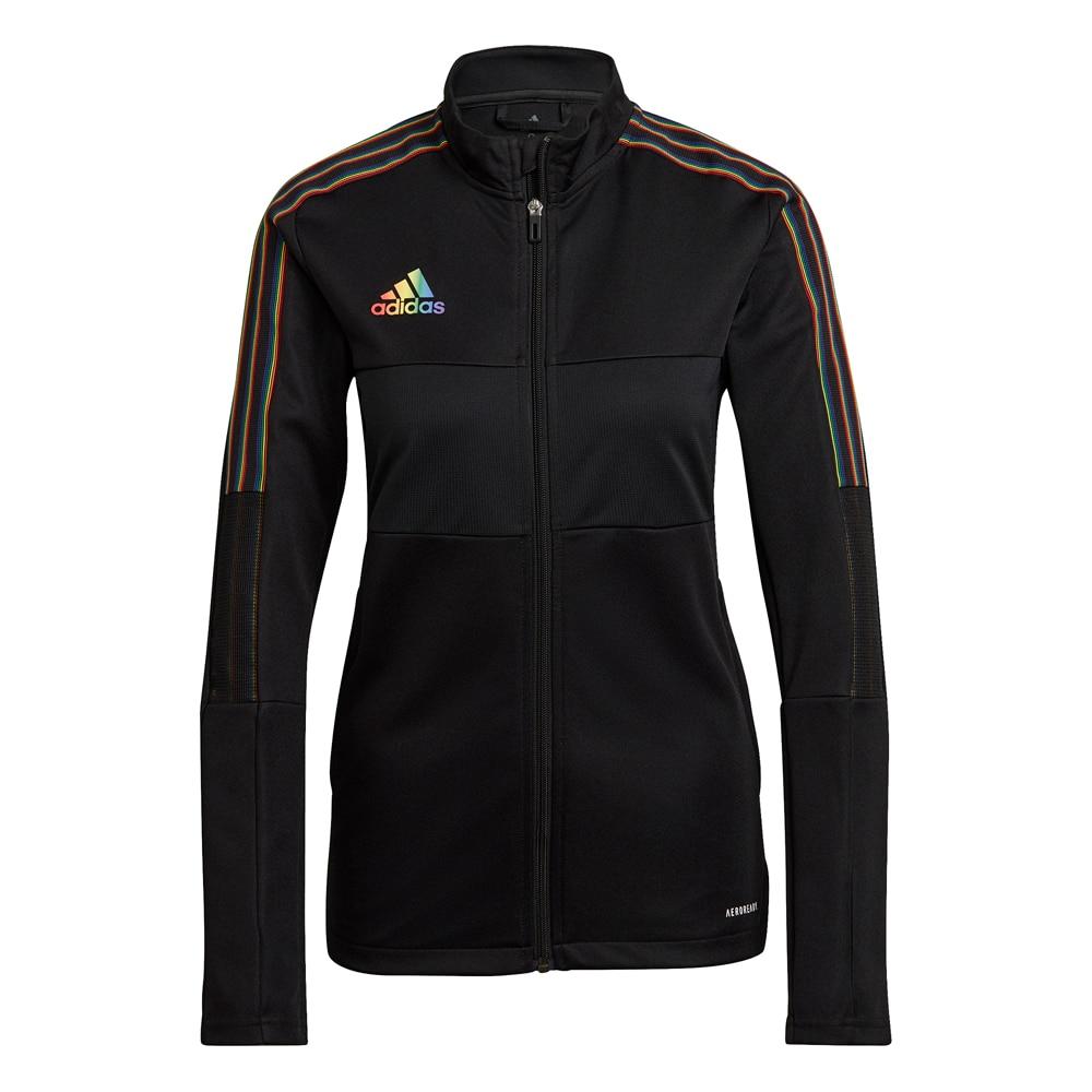 Adidas Tiro 21 Track Treningsjakke Dame Sort/Pride