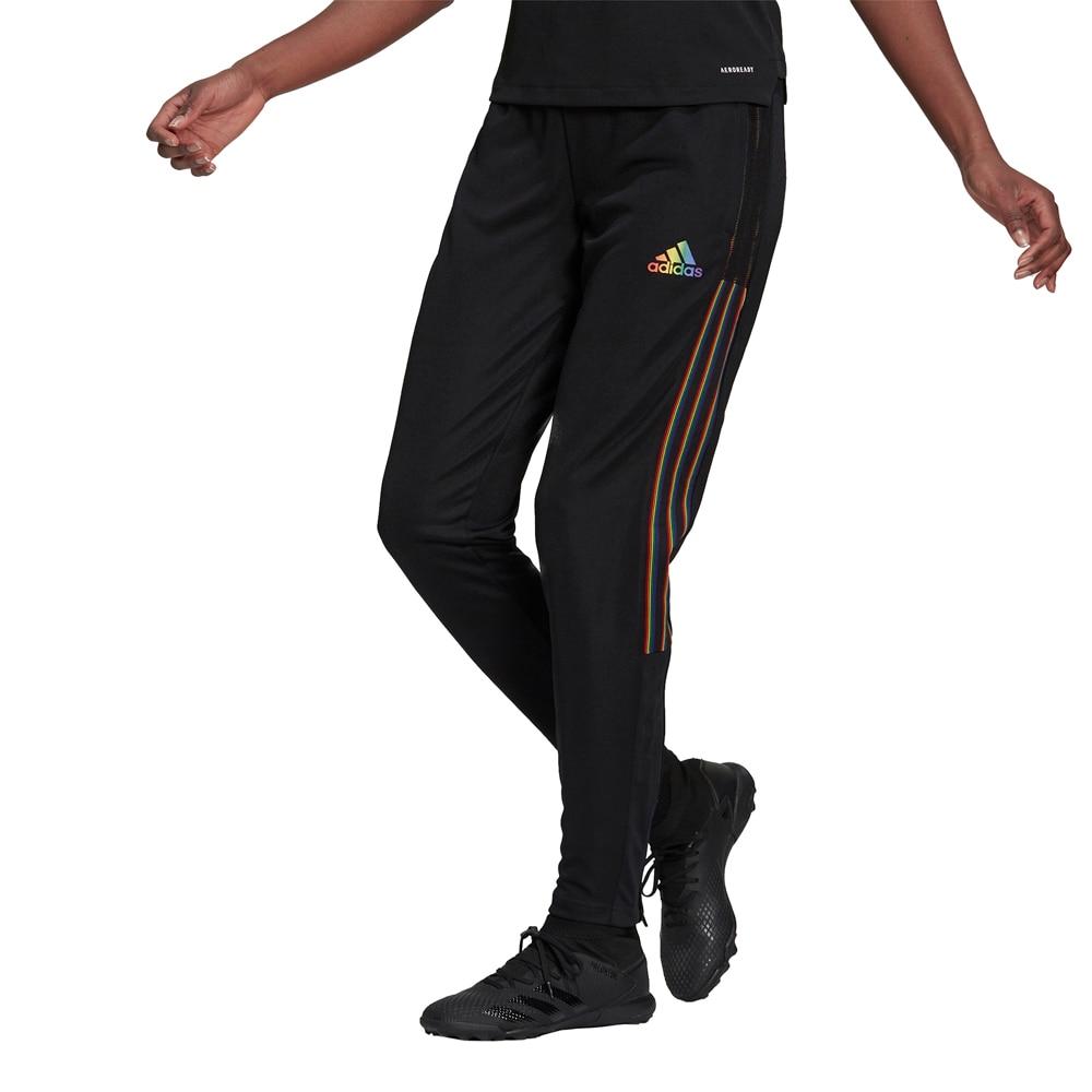 Adidas House of Tiro 21 Treningsbukse Dame Sort/Pride