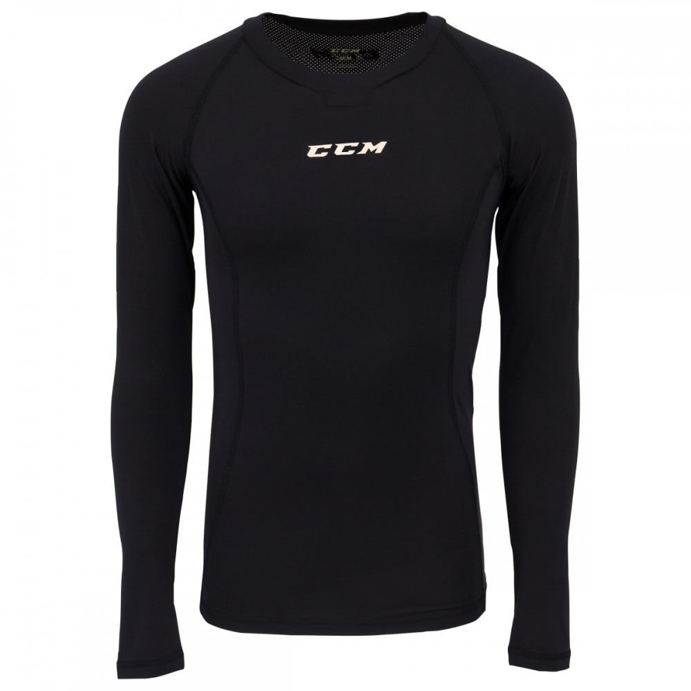 Ccm Performance Compression Langermet Top Hockey Undertøy