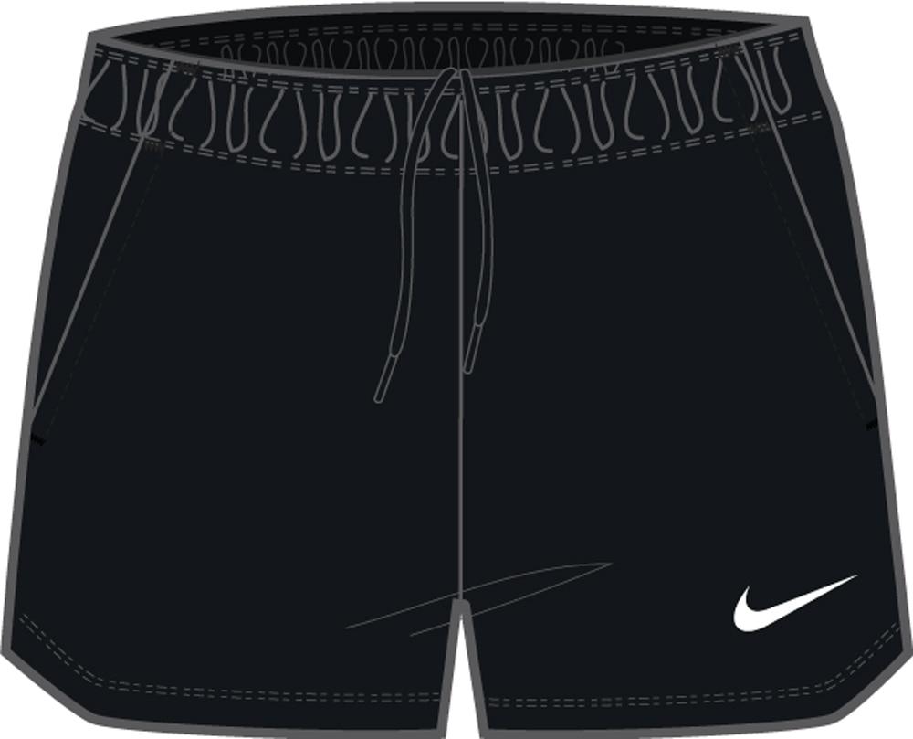 Nike Park 20 Fritidsshorts Dame Sort