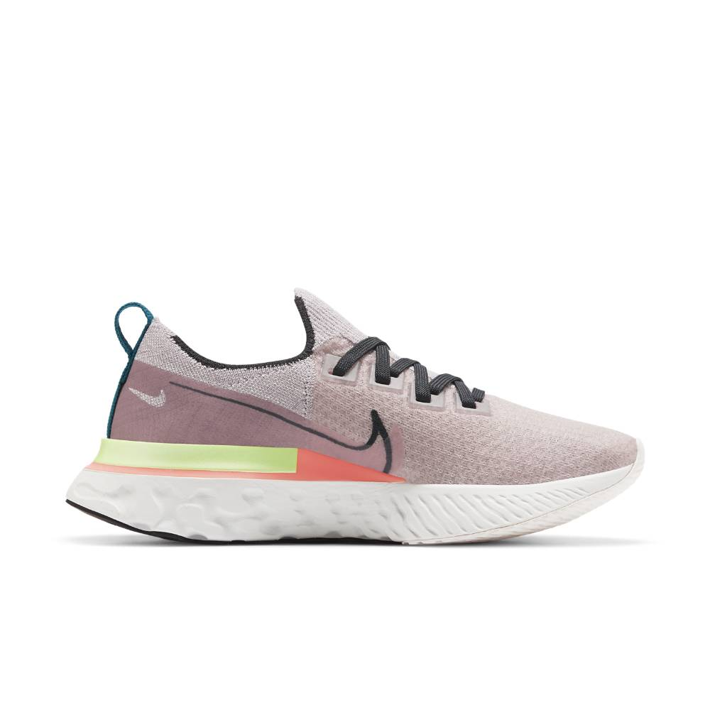 Nike React Infinity Run Flyknit Joggesko Dame Lyserosa