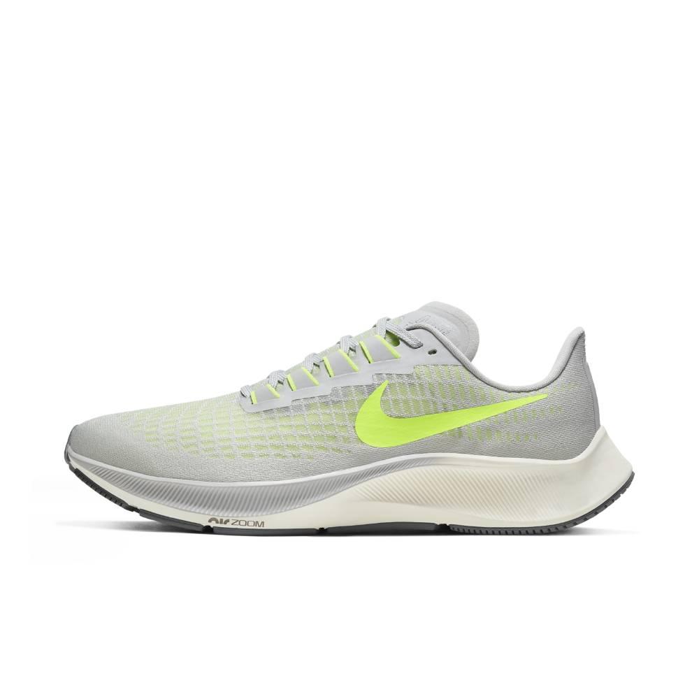 Nike Air Zoom Pegasus 37 Joggesko Herre Grå/Volt