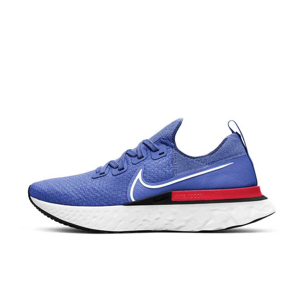 Nike React Infinity Run Flyknit Joggesko Blå