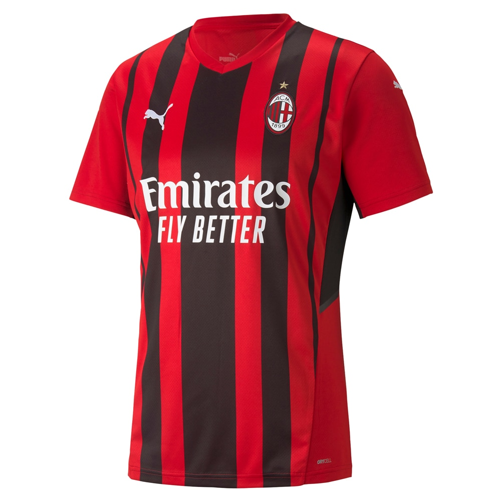Puma AC Milan Fotballdrakt 21/22 Hjemme Barn