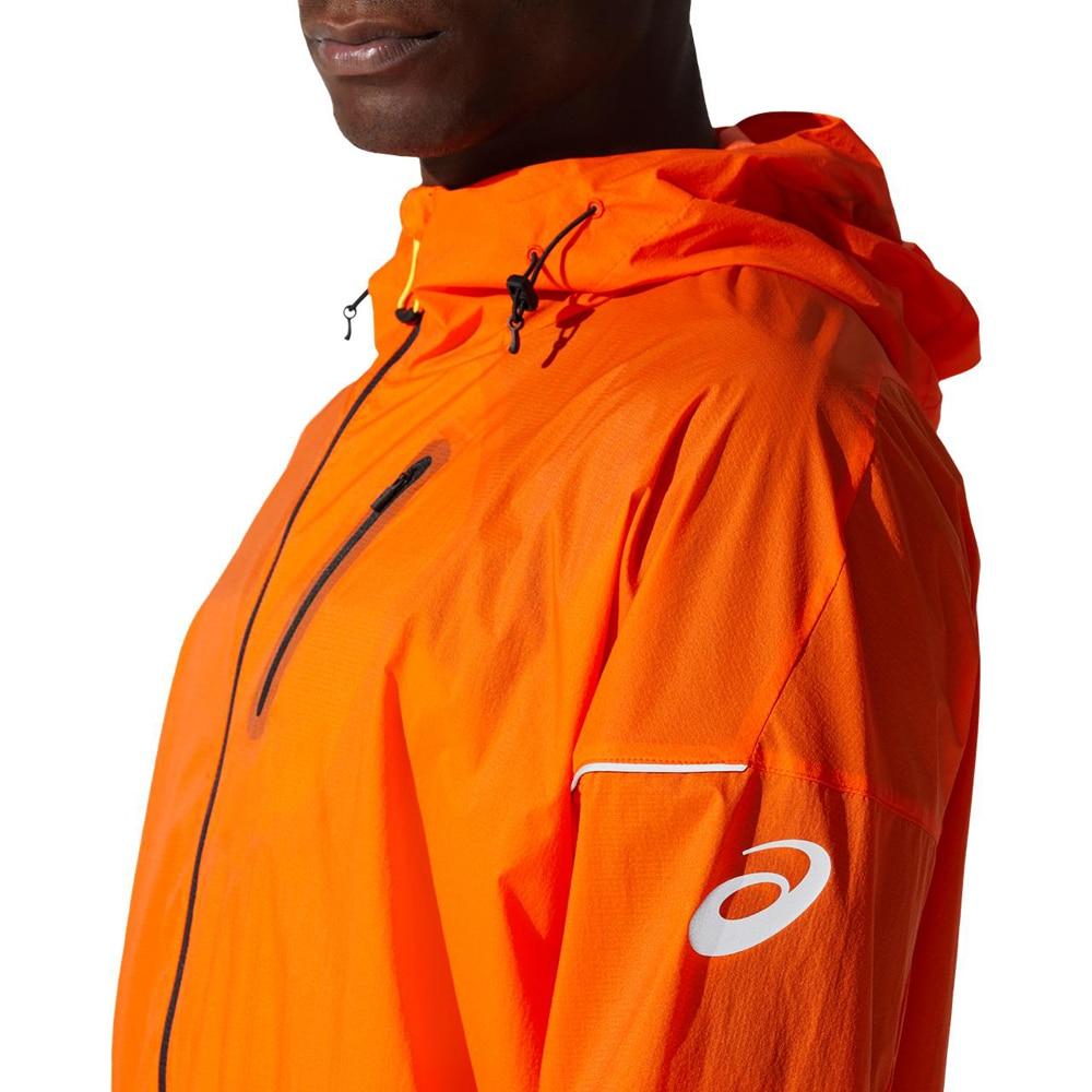 Asics Fujitrail Løpejakke Herre Oransje