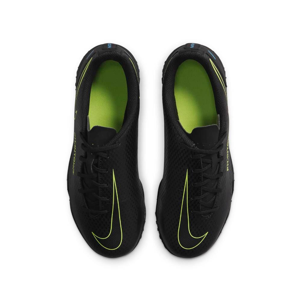 Nike Phantom GT Club TF Fotballsko Barn Black x Prism Pack