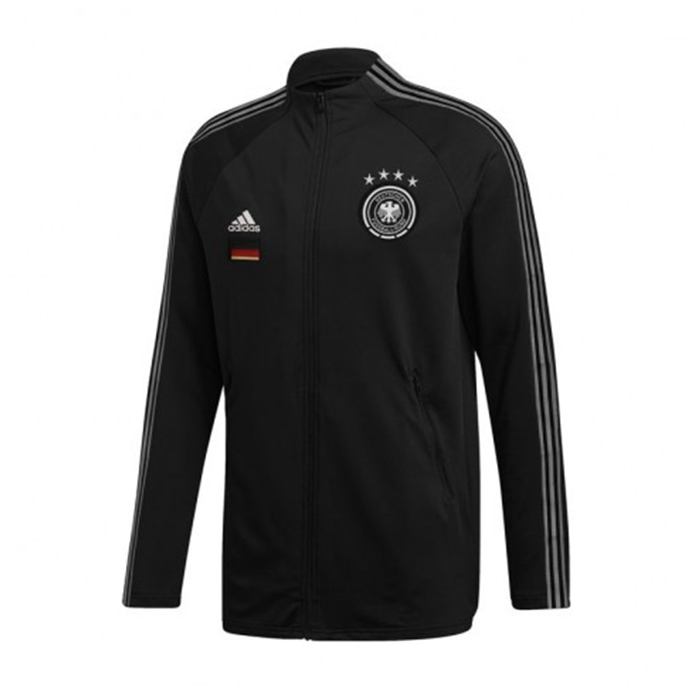 Adidas Tyskland Anthem Fotballjakke EM 2021 Sort