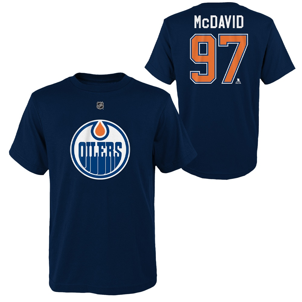 Outerstuff NHL Barn T-skjorte Edmonton Oilers McDavid 97