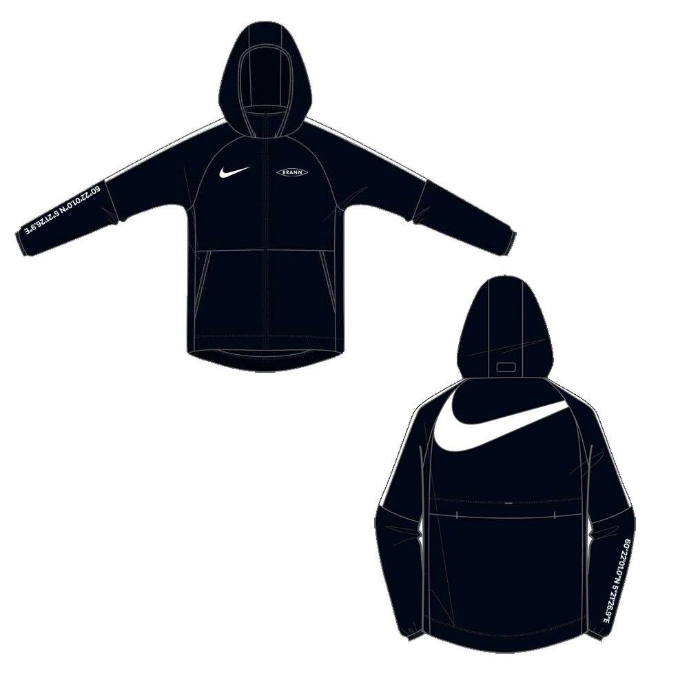 Nike SK Brann Fritidsjakke 2021 Sort