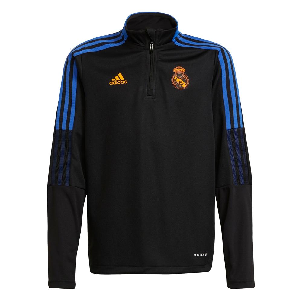 Adidas Real Madrid Trenigsgenser 21/22 Barn Sort