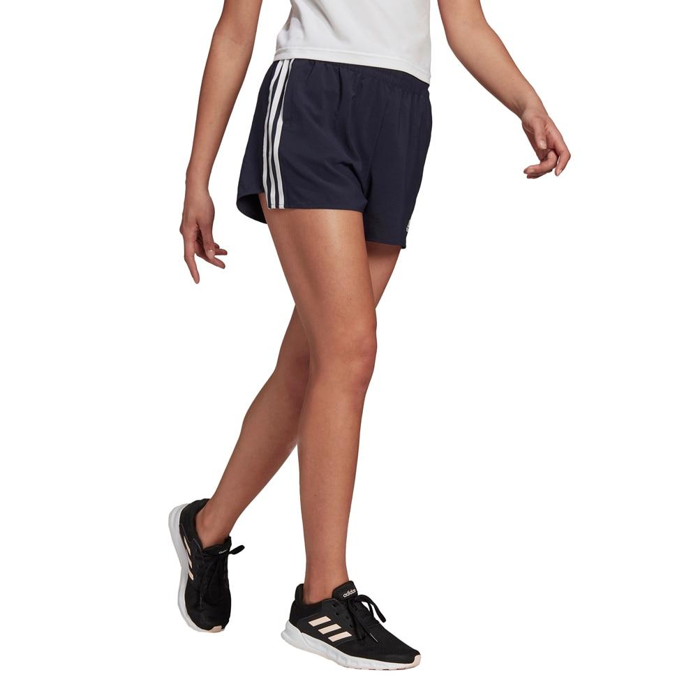 Adidas 3-Stripes Løpeshorts Dame Sort