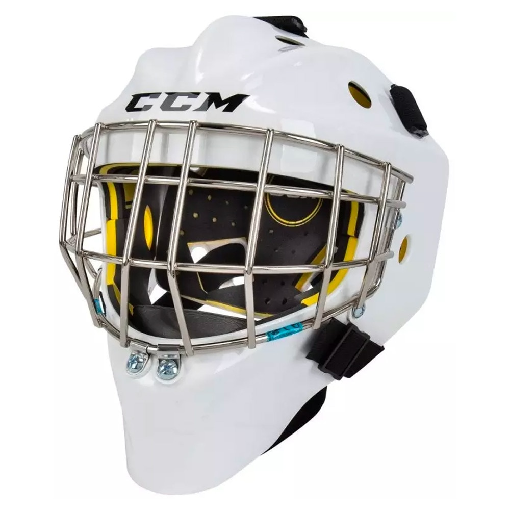 Ccm AXIS 1.5 Barn Keepermaske Hockey Hvit