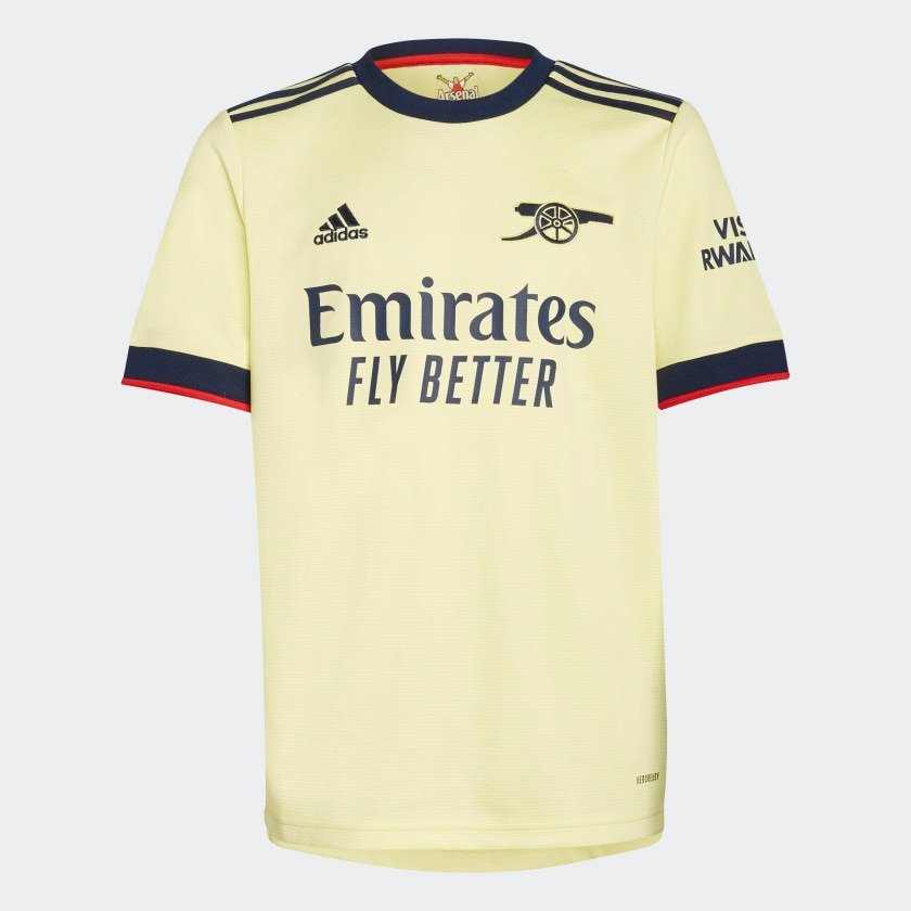 Adidas Arsenal Fotballdrakt 21/22 Borte Barn