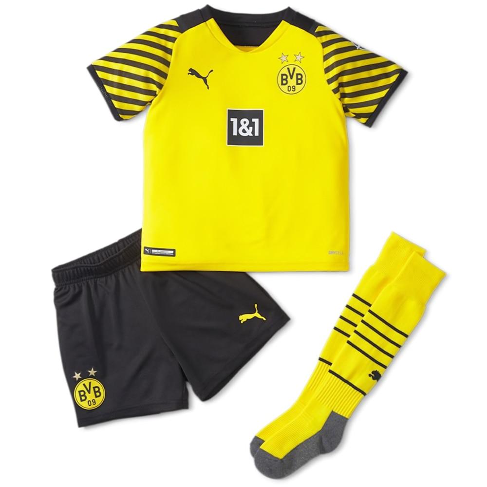 Puma BVB Dortmund Draktsett 21/22 Hjemme Barn