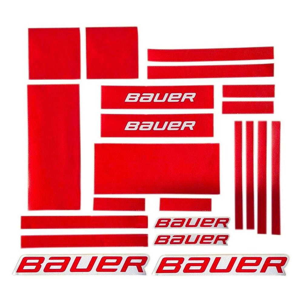 Bauer GSX Graphic Kit Rød