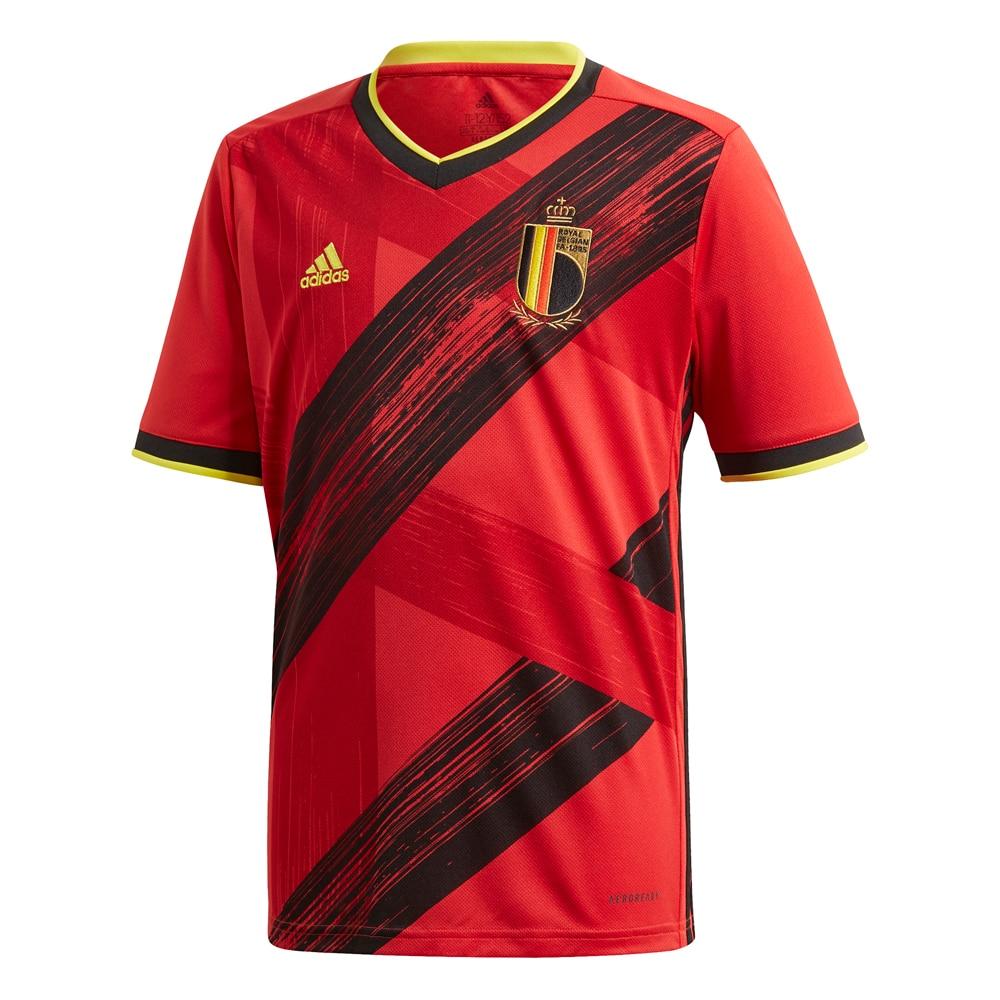 Adidas Belgia Fotballdrakt EM 2021 Hjemme Barn