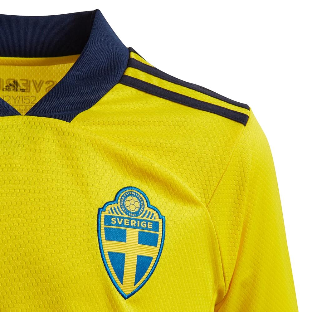 Adidas Sverige Fotballdrakt EM 2021 Hjemme Barn