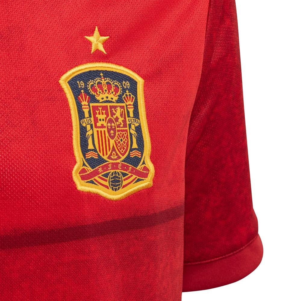 Adidas Spania Fotballdrakt EM 2021 Hjemme Barn