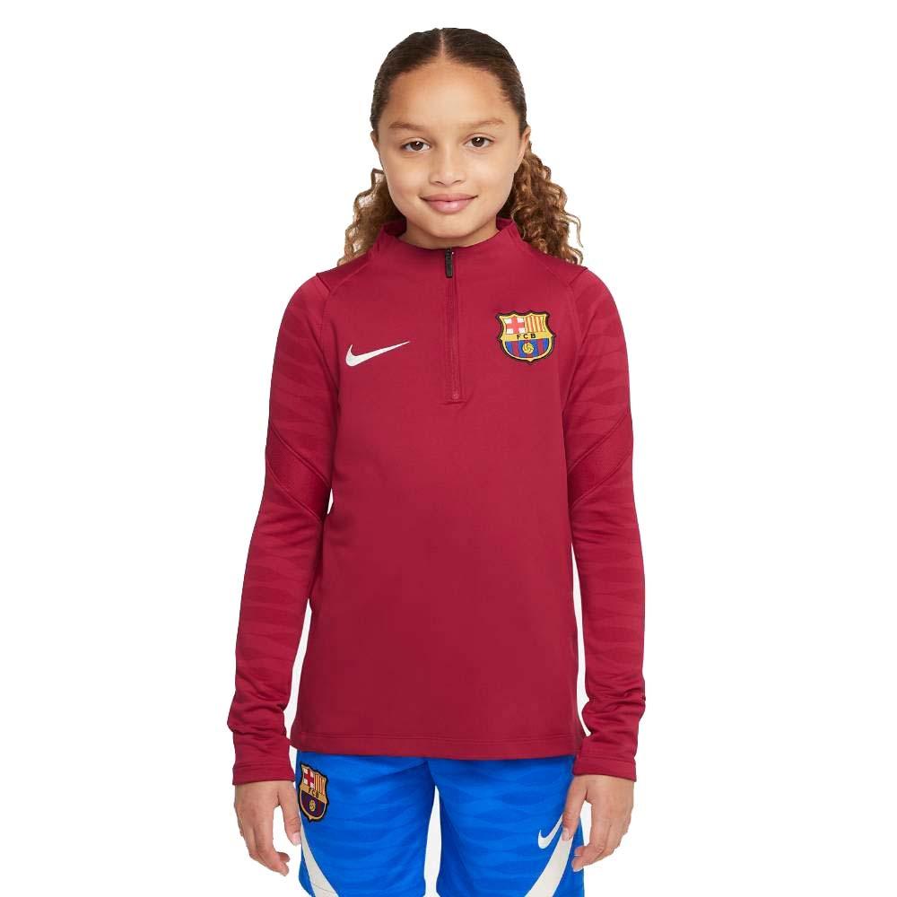 Nike FC Barcelona Treningsgenser 21/22 Barn Rød