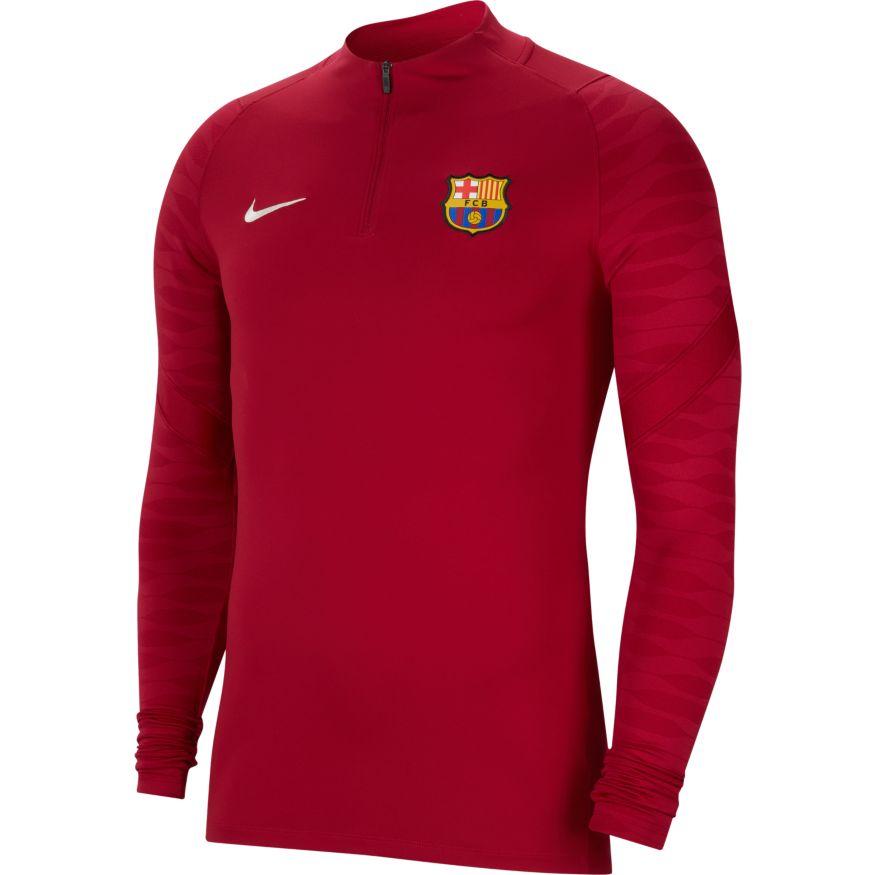 Nike FC Barcelona Treningsgenser 21/22 Rød