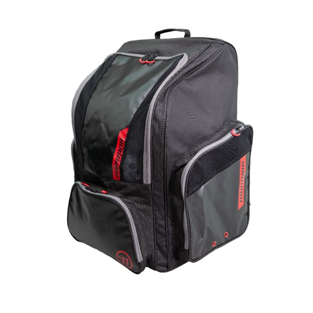 Warrior Pro Backpack med hjul Svart/rød