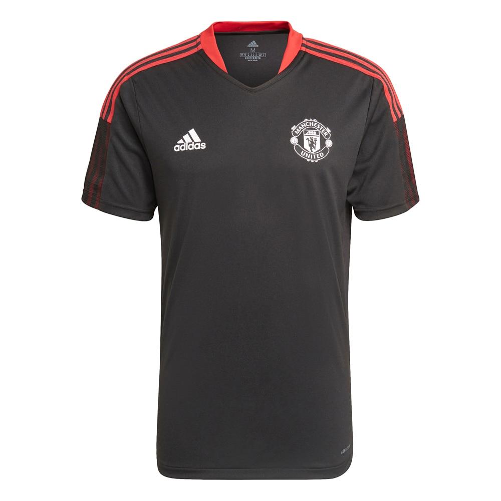 Adidas Manchester United Treningstrøye 21/22 Sort
