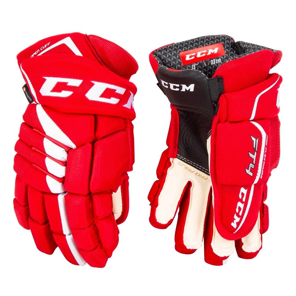 Ccm JetSpeed FT4 Hockeyhanske Rød