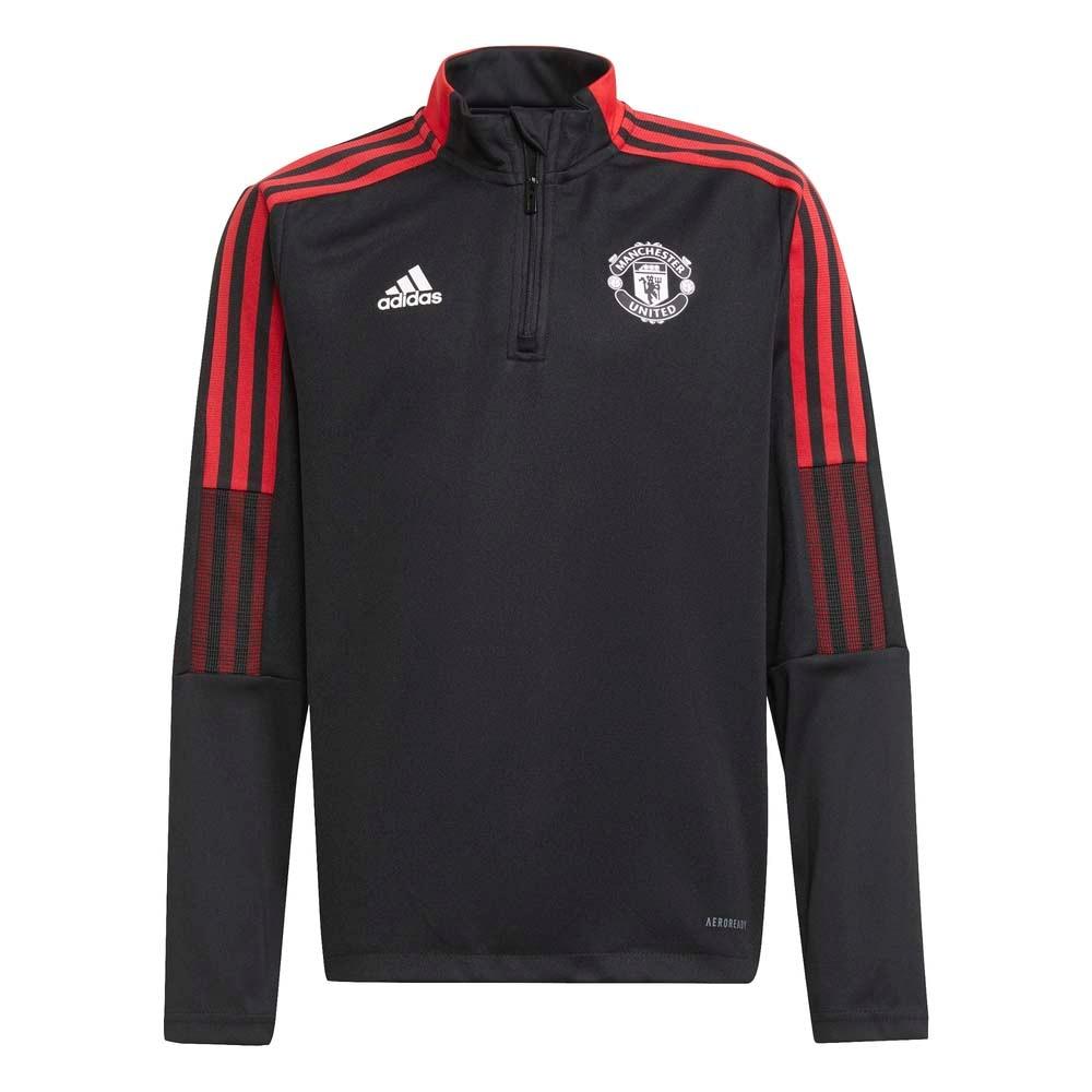 Adidas Manchester United Treningsgenser 21/22 Barn Sort