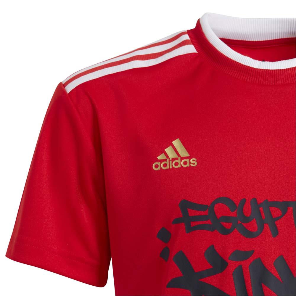 Adidas Salah Fotballtrøye Barn Rød