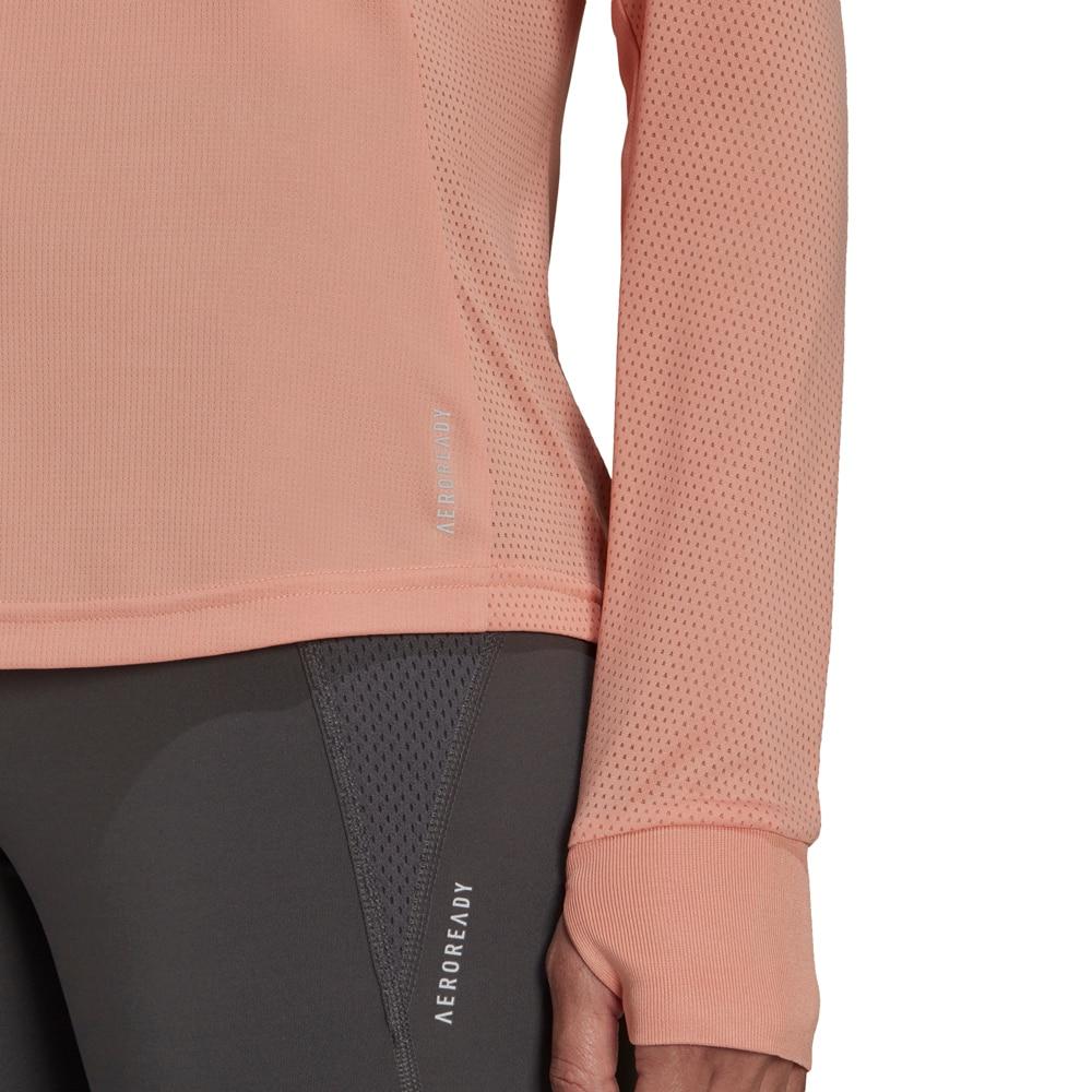 Adidas Own The Run Langermet Treningstrøye Dame Beige