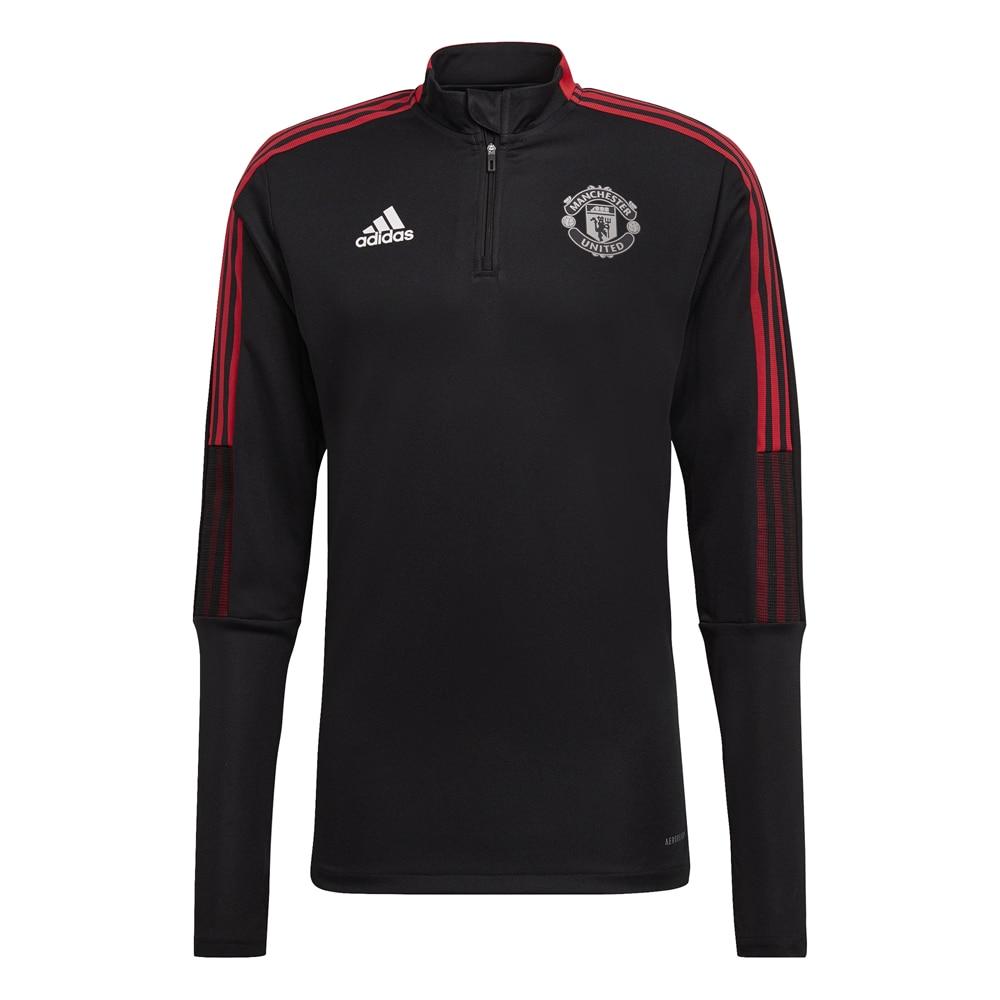 Adidas Manchester United Treningsgenser 21/22 Sort