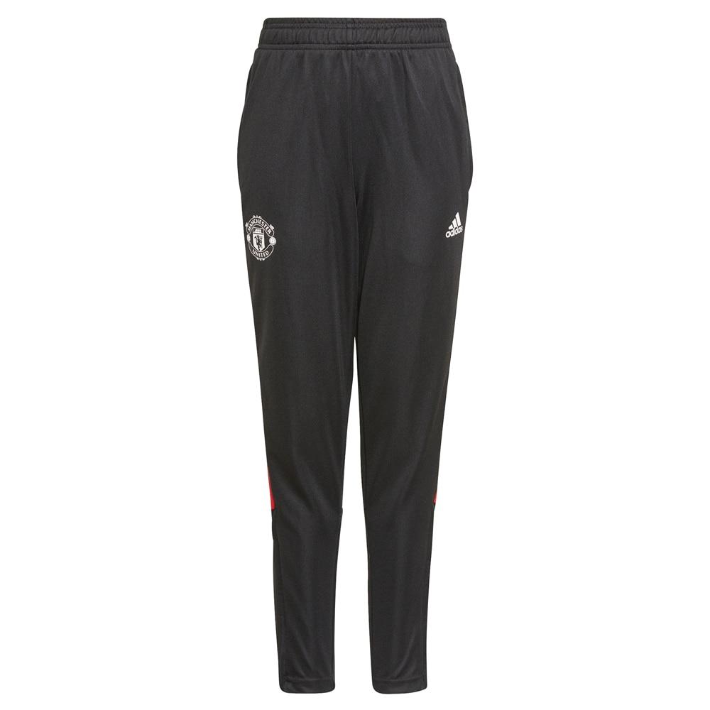 Adidas Manchester United Treningsbukse 21/22 Barn Sort