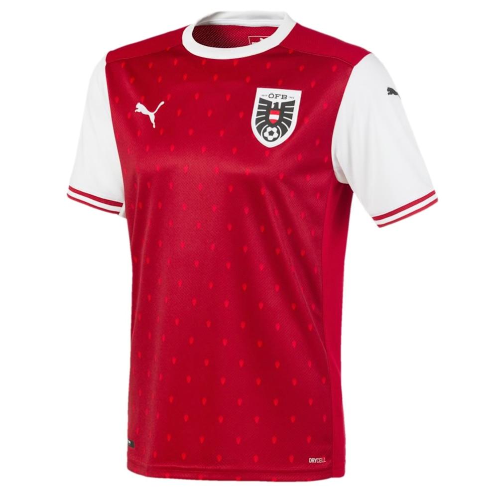 Puma Østerrike Fotballdrakt EM 2020 Hjemme